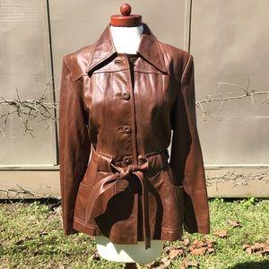 Wilson's VTG Brown Leather Jacket/Coat